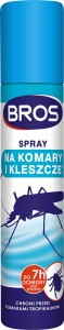 BROS - spray na komary i kleszcze 120/90ml