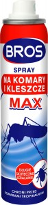 BROS - spray na komary i kleszcze MAX 90ml
