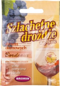 Drożdże winiarskie Bordeaux - 20ml/25l