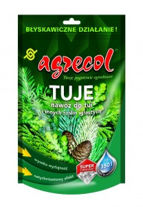 Tuje nawóz do tui 0,35kg   /Agrecol/