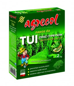 Nawóz do tui i cyprysów 1,2kg   /Agrecol/