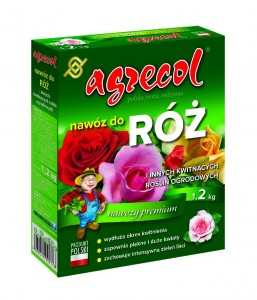 Nawóz do róż 1,2kg   /Agrecol/